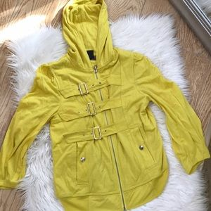 Bright yellow jacket marc Jacobs